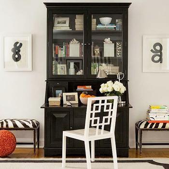 Wondrous Black Living Room Desk Design Ideas Largest Home Design Picture Inspirations Pitcheantrous