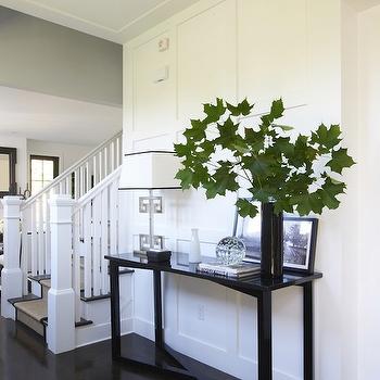 Greek Key Lamp, Transitional, entrance/foyer, Lynn Morgan Design