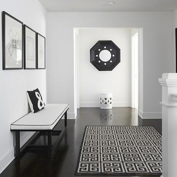 Greek Key Rug, Contemporary, entrance/foyer, Lynn Morgan Design