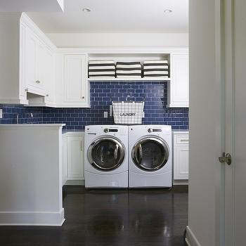 White Laundry Room Cabinets, Contemporary, laundry room, Lynn Morgan Design