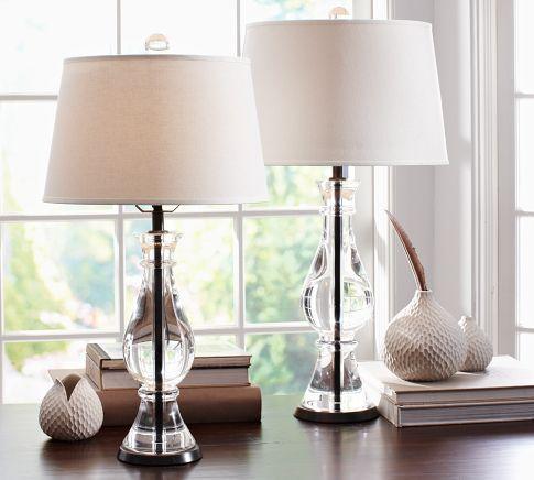 Marston Crystal Table Amp Bedside Lamp Bases Pottery Barn