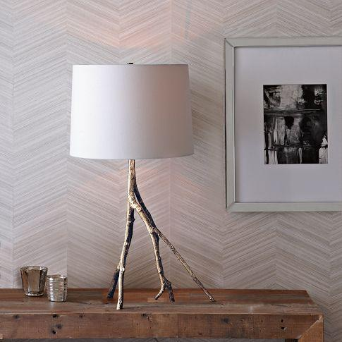 Branch Table Lamp Silver West Elm