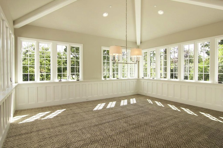Sunroom Transitional Living Room