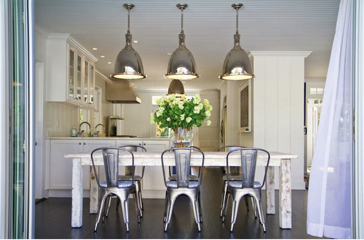 Swedish Chairs Cottage Dining Room Molly Frey Design - Metal dining room chairs