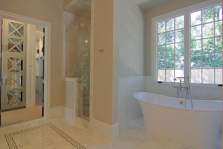 Bath Nook Transitional Bathroom