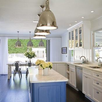 Beadboard Kitchen Ceiling, Contemporary, kitchen, Chango & Co.
