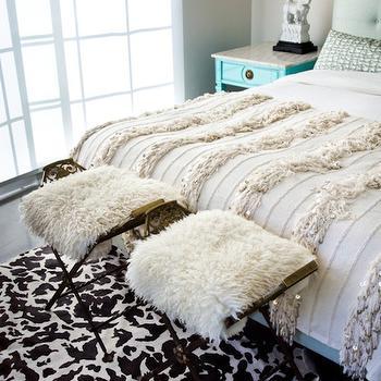 Moroccan Wedding Blanket, Eclectic, bedroom, House of Honey