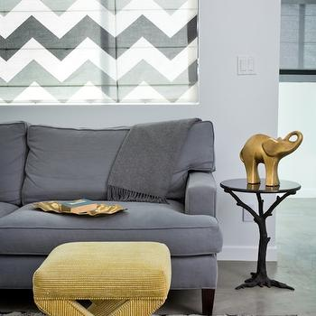 Gray and Yellow Rooms, Contemporary, living room, House of Honey