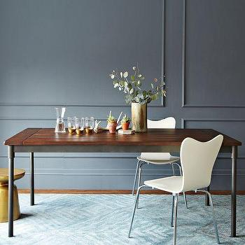 Mix Match Table Arbor Base Solid Wood Top West Elm
