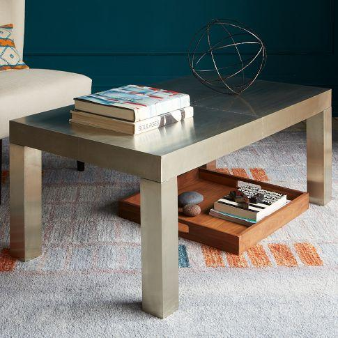 Parsons Rectangular Coffee Table