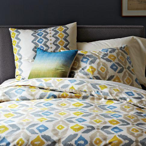 West Elm Paint Palette Duvet