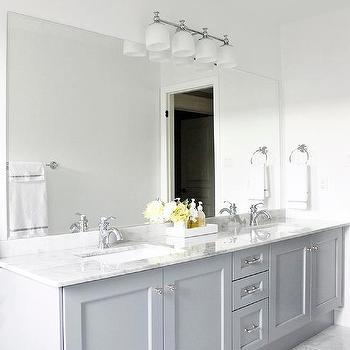 Vanity In Benjamin Moore Pigeon Gray Design Ideas
