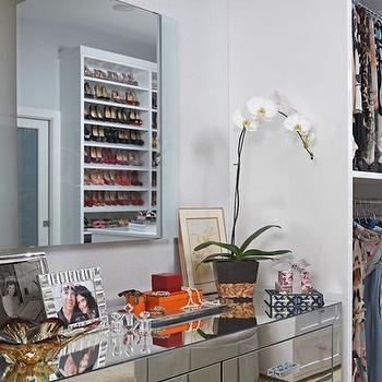 Mirrored Dresser, Contemporary, closet, LA Closet Design