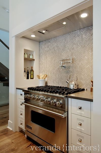 herringbone kitchen backsplash design decor photos