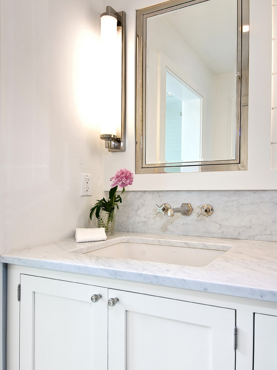 Inset Medicine Cabinet Cottage Bathroom Hampton Design