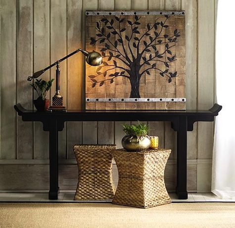 Ballard Designs Ananda Serving Table Look 4 Less