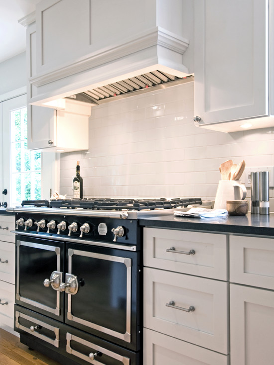 White Kitchen Hood black kitchen hood design ideas