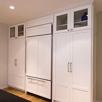 Floor to Ceiling Kitchen Cabinets, Cottage, kitchen, Hampton Design