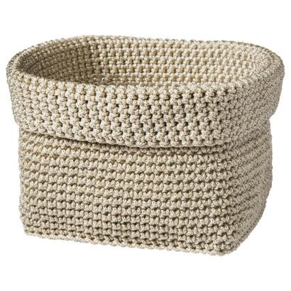Threshold Chunky Knit Storage Basket