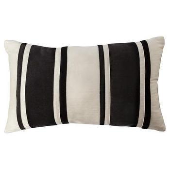 Black and Cream Striped Bolster I Target