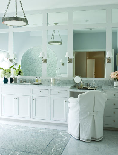 view full size. Off White Cabinets   Transitional   bathroom