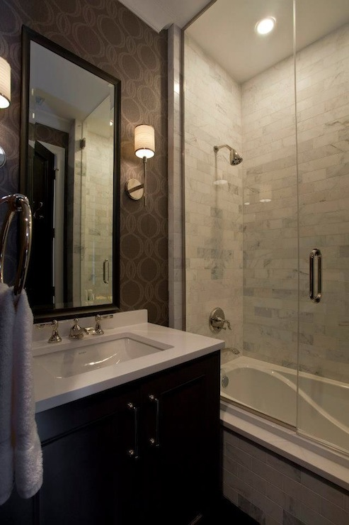 Small Glass Shower Design Contemporary Bathroom