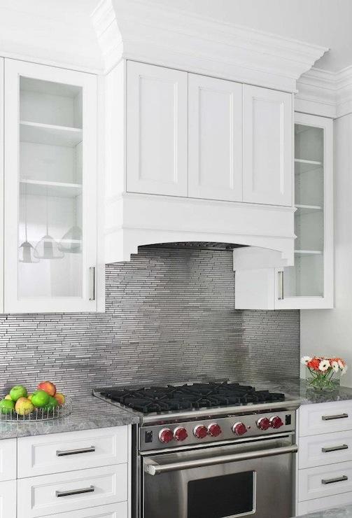 stainless steel backsplash contemporary kitchen buchman photo
