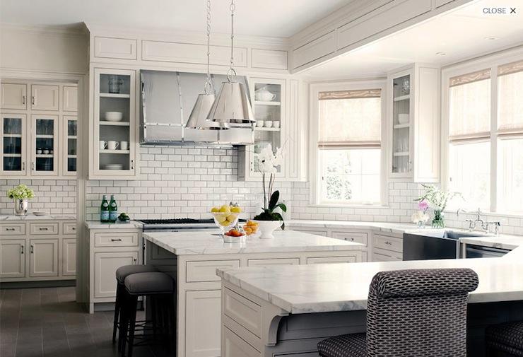 U Shaped Kitchen Transitional Kitchen Courtney Hill