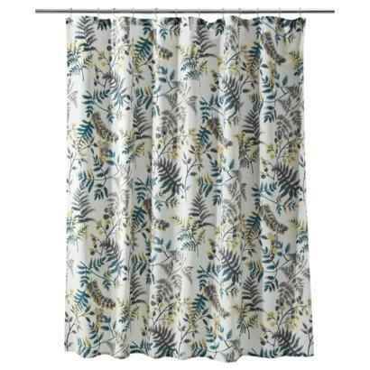 pirouette fabric shower curtain - homedecorators