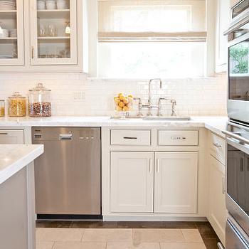 Small Kitchen, Contemporary, kitchen, Courtney Hill Interiors