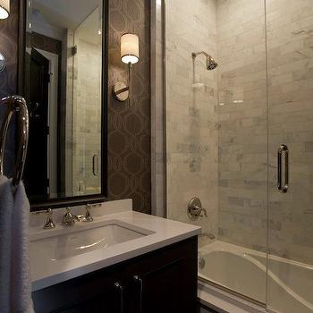 Small Glass Shower Design, Contemporary, bathroom, Michael Abrams Limited