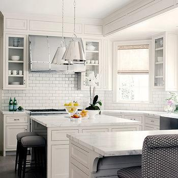 U Shaped Kitchen, Transitional, kitchen, Courtney Hill Interiors