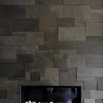 slate tile fireplace surround. Slate Fireplace Surround Design Ideas