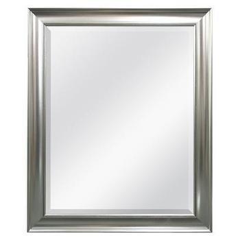 Threshold Silver Beaded Wall Mirror I Target