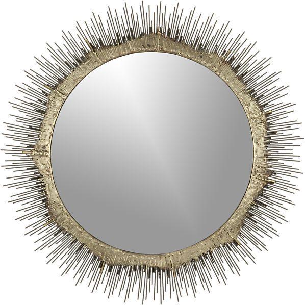 Clarendon Small Sunburst Wall Mirror
