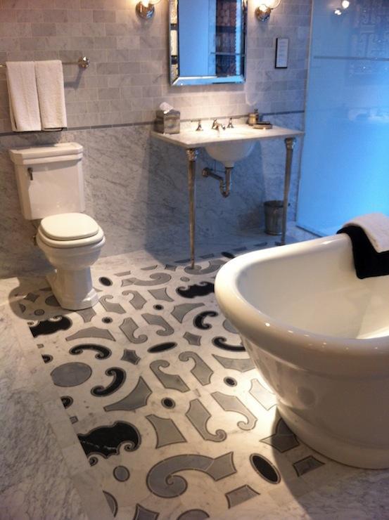 4 Leg Washstand Contemporary Bathroom My Home Ideas