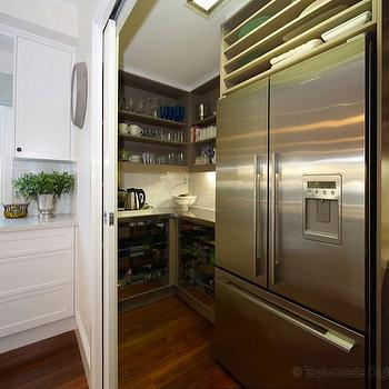 Walk In Pantry, Contemporary, kitchen, The House That AM Built