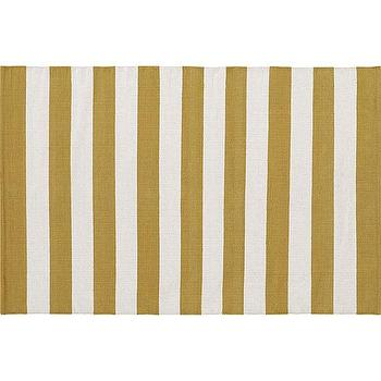 Olin Gold Rug, Crate and Barrel