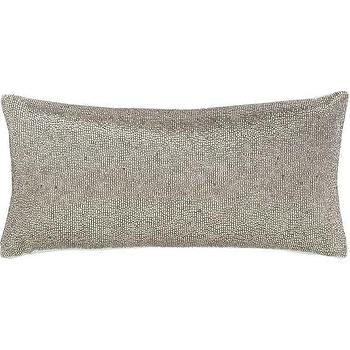 panache platinum pillow i crate and barrel