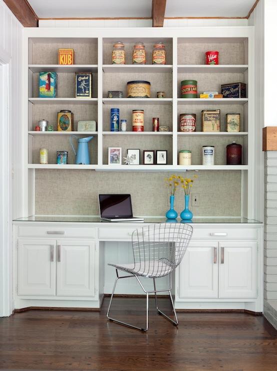 Gray Built Ins Design Ideas