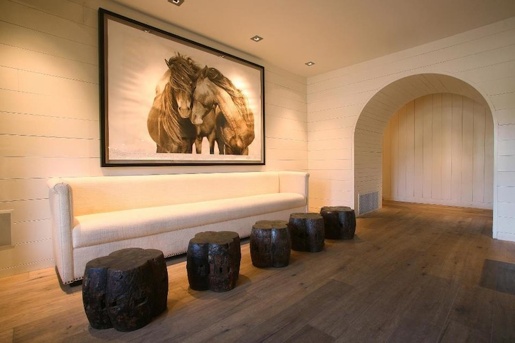 Horse Art - Country - living room - Driscoll Design Group