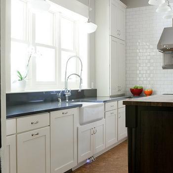 Cork Floor, Contemporary, kitchen, Beth Haley Design