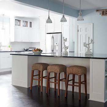 Bar Stools And High Table, Pottery Barn Seagrass Barstool Design Ideas