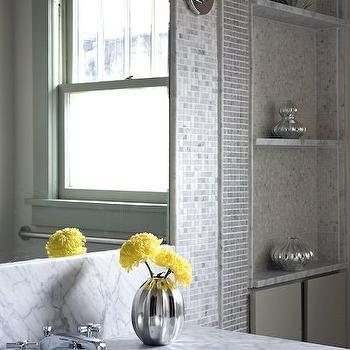 mercury glass bathroom accessories