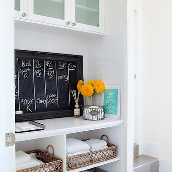Mud Room Cabinets, Contemporary, laundry room, The House That AM Built