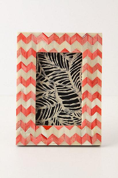 chevron frame anthropologiecom