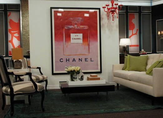 & Andy Warhol Chanel framed by 13WestDesign - Etsy