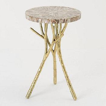 Beach Bramble Side Table, Anthropologie.com