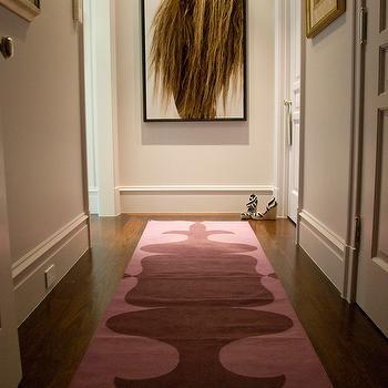 Pink Runner, Eclectic, entrance/foyer, Zoe Feldman Design