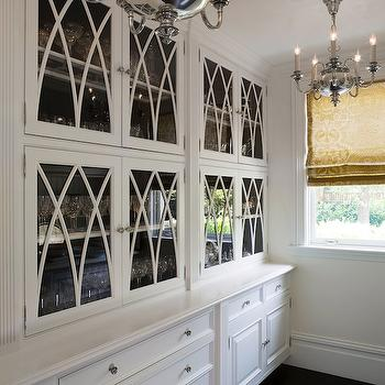 Glass Front Cabinets, Traditional, kitchen, Pacific Peninsula Group